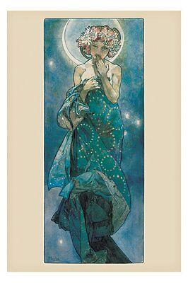 Poster MUCHA - Moon Girl   ca60x90cm  NEU  56318 EAN 5050574310949