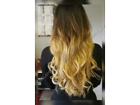 HAIR EXTENSIONS MOBILE, NO DEPOSIT, ALL COLOURS IN STOCK, FLEXIBLE HOURS AND DAYS
