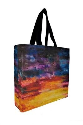 Gusseted Canvas Tote Shopping Bag, Eco, Tote, Printed Bag, MOTHERS DAY GIFT IDEA