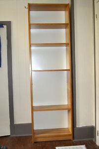 Solid Pine Ikea Shelving Unit