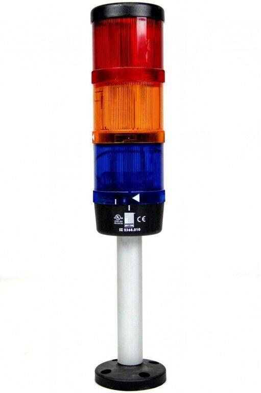 RITTAL LED Signalsäule Sockelmontage SZ 2368 rot gelb blau LED