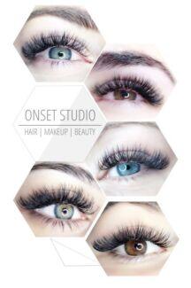 Beauty eyelash extensions technician