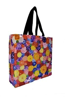 FLORAL PRINTED Tote-Shoppers, Bag - GIFT IDEA - CANVAS BAG, ECO - MOTHERS DAY