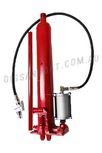 AIR-HYDRAULIC-RAM-12-TON-LONG-STROKE-JACK-ENGINE-CRANE-TIPPING-TRAILER-ROTISSERI
