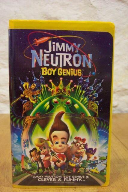 jimmy neutron boy genius vhs 2002 spanish subtitled