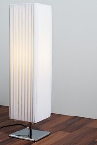 lampadaire dessin moderne lampe sur pied lampe de corridor luminaire blanc 30420 ebay. Black Bedroom Furniture Sets. Home Design Ideas