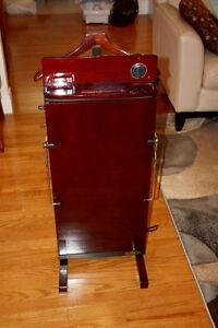 Steam buster and salton  trouser press valet etc.
