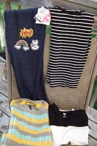 5 Items of Girl's clothing (some new) sizes 8 to 10