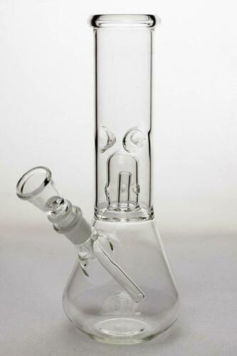 """8"""" Clear Ice Catcher Percolator Tobacco Hookah Water Pipe Bong Glass"""