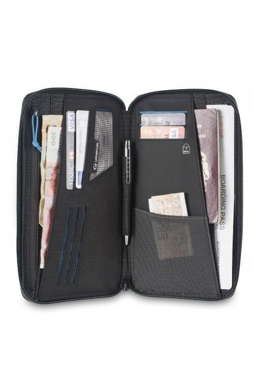 LIFEVENTURE ASTUCCIO RFID DOCUMENTO SACCHETTO Passport Passaporto protettiva