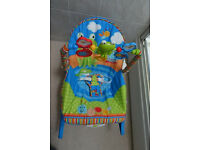 Infant To Toddler Baby Bouncer Swing Chair Rocker Vibration Music