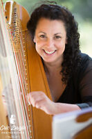 Harpist Musician for your Events or Wedding in Banff