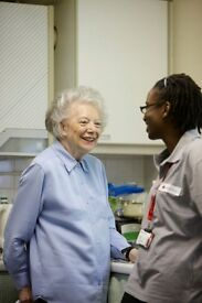 If you are caring, compassionate and up for a natter, this could be the role for you!