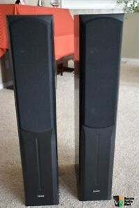 Quest 3-Way Tower Speakers. 180 Watts/Channel. GREAT Sound!