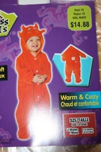 Devil baby costume size 6-12 months