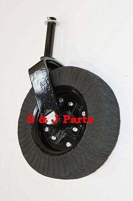 Tail Wheel Assembly 15-1 12 Yoke Cast Iron Hub- Bush Hog Rhino Land Pride