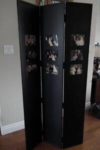 3 Panel Folding Photo screen (wood)