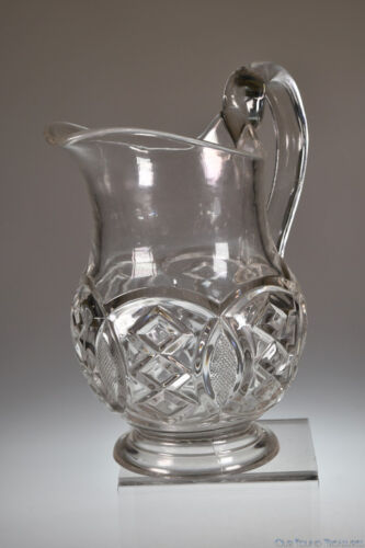 c. 1876 WASHINGTON CENTENNIAL by Gillinder & Sons CLEAR 1 QT Milk Pitcher