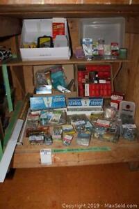 Assorted Hardware, Door Sweep And More