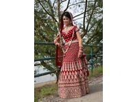 Asian/Indian/Pakistani/bridal wedding lengha dress