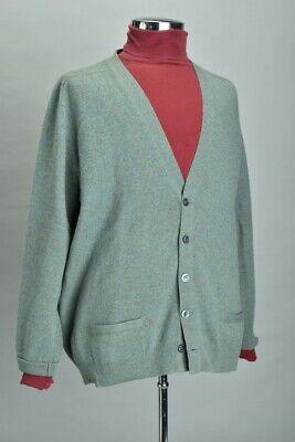 Men's Size L Pure Silk Roll Neck Shirt & Pringle of Scotland s46 Cardigan. YGS