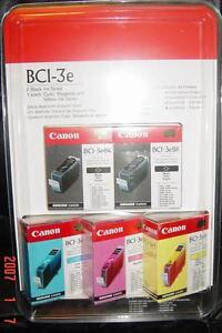 Canon ink , 5 cartridges , unopened box