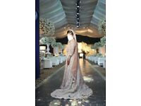 Two beautiful couture asian bridal dresses in perfect condition.