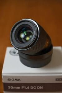Sigma 30mm f1.4 for Sony e-mount