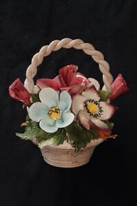 Capidomonte - Large China  Floral Centrepiece - made in Italy London Ontario image 1