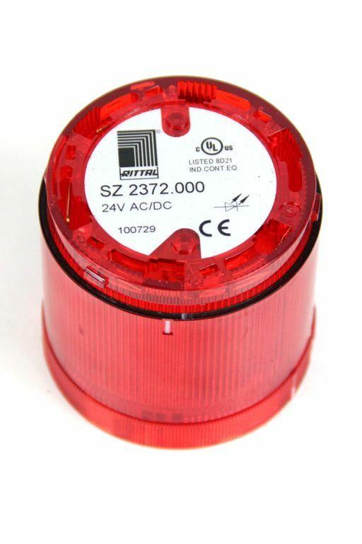 RITTAL SZ 2372.000 LED Dauerlichtelement rot für Signalsäule modular 24 V AC/DC
