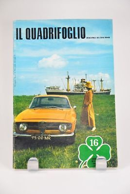 IL QUADRIFOGLIO 1970  Trimestrale dell ´ ALFA ROMEO Zeitschrift; K14