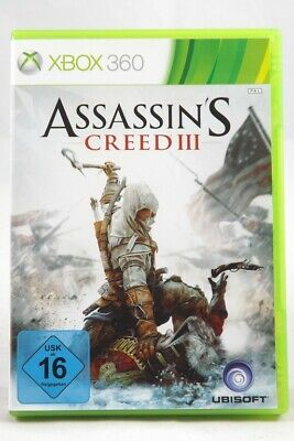 Assassin´s Creed III (Microsoft Xbox 360) Spiel in OVP - GUT