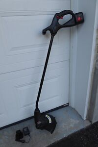 yardworks electric weed trimmer manual