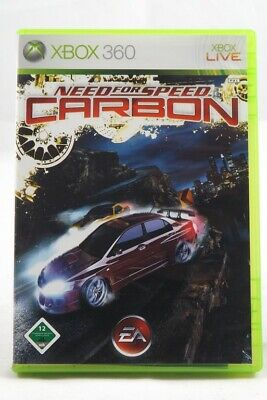 Need for Speed: Carbon (Microsoft Xbox 360) Spiel in OVP - GUT