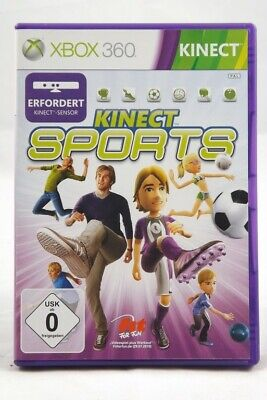 Kinect Sports (Microsoft Xbox 360) Spiel in OVP - GUT