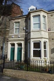 2 Bedroomed spacious flat 1 mile from city centre, usual mod cons.