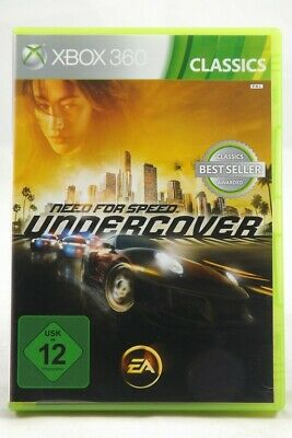 Need for Speed: Undercover -Classics- (Microsoft Xbox 360) Spiel in OVP