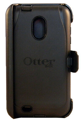 NEW Samsung Galaxy S II Epic 4G Touch Otterbox Defender Case Black WITH HOLSTER on Rummage
