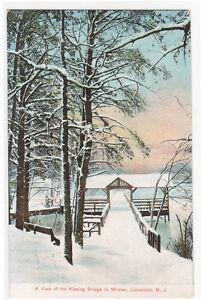 Kissing-Bridge-in-Winter-Lakewood-New-Jersey-1908-postcard