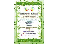 Jodie's helping hands cleaning and ironing service
