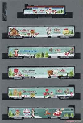 Kato 106-2017 N Scale 2017 Operation North Pole Train Set *Christmas Clearance*