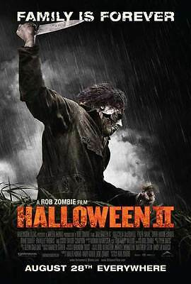 HALLOWEEN 2 Movie POSTER 27x40 C Sheri Moon Zombie Chase Wright Vanek Scout