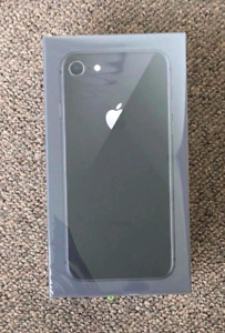 iPhone 8 Grey 64GB - Brand New Sealed Unlocked - apple warranty