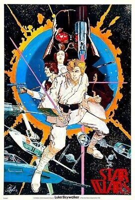 Star Wars Luke Skywalker #1 POSTER 1977 Chaykin LARGE