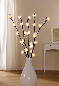 DEKOZWEIGE Lichtblume WARMWEISS LED-DIODEN DEKOLEUCHTE LICHTERKETTE LICHTERZWEIG
