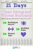 Clean Eating and Fitness Bootcamp
