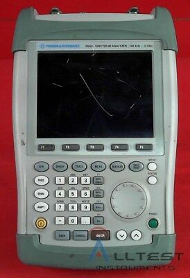 Rohde Schwarz Fsh3.13 Mobile Spectrum Analyzer Fsh3 1145.5850.13
