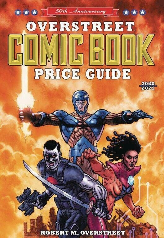 OVERSTREET 2020 2021 COMIC BOOK PRICE GUIDE 50 HARDCOVER Valiant Heroes Cover HC