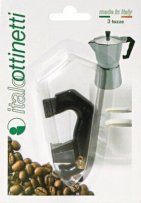 Handle Junction Vertical + Accessories Mocha Type Bialetti Size 3 Cup