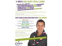Four Week Challenge - Volunteer in Scouting